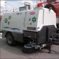 Прицепная вакуумная подметально-уборочная машина ТКМ-177М