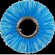 Щетка дисковая полипропиленовая с металлическим сердечником