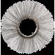 Щетка дисковая металлическая с металлическим сердечником