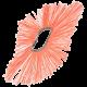 Щётка дисковая изогнутая с ворсом из полипропилена и металлическим сердечником